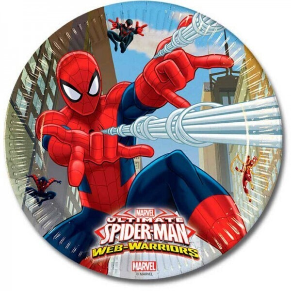 Spiderman Warriors Teller