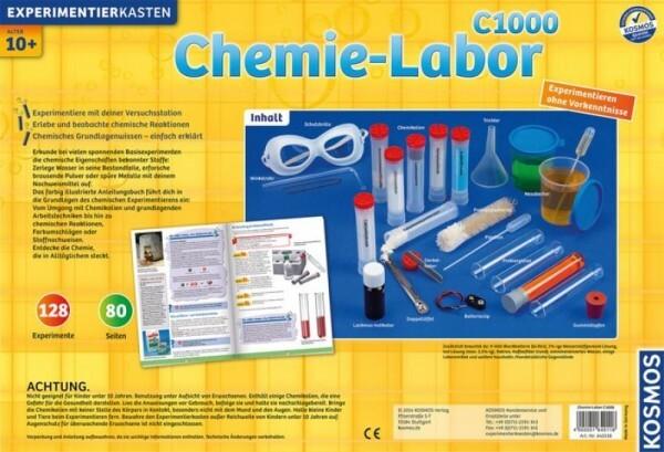 KOSMOS 640118 - Experimentierkasten Chemielabor C 1000