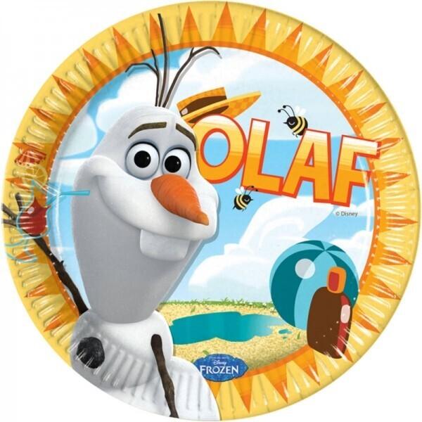 Olaf / Die Eiskönigin Teller
