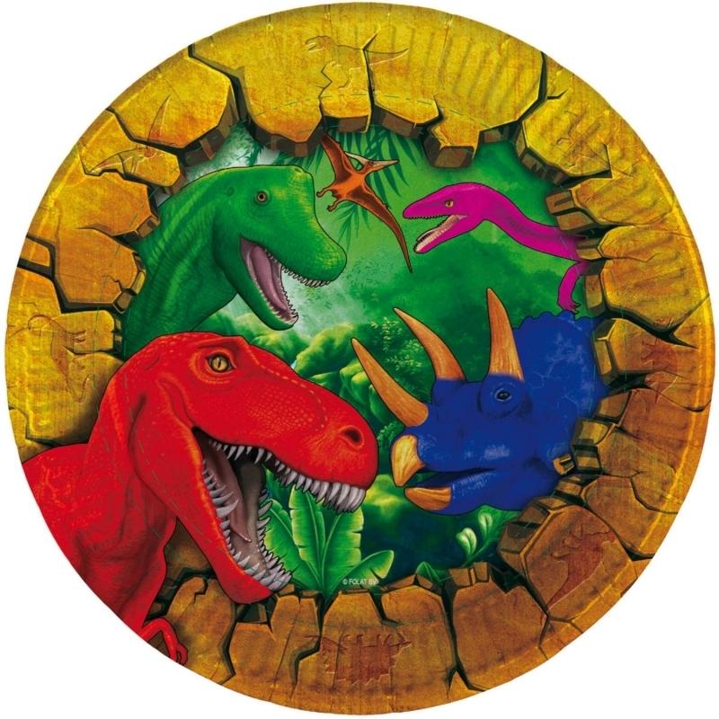 Dinosaurier Teller