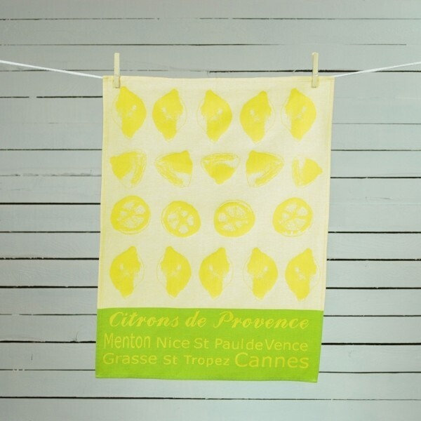 Geschirrtuch Citrons
