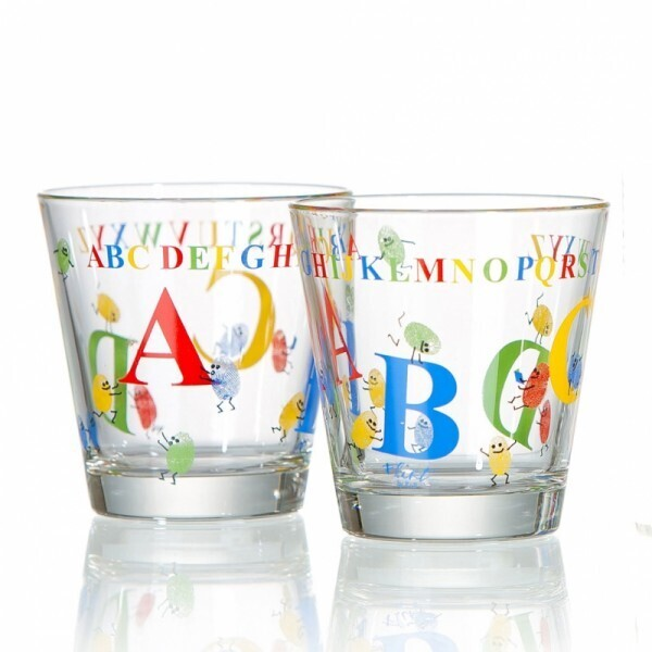 Kinderglas ABC