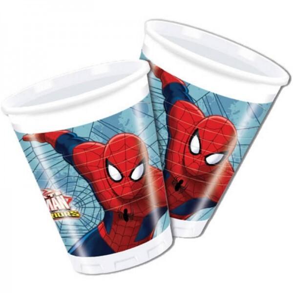 Spiderman Warriors Becher