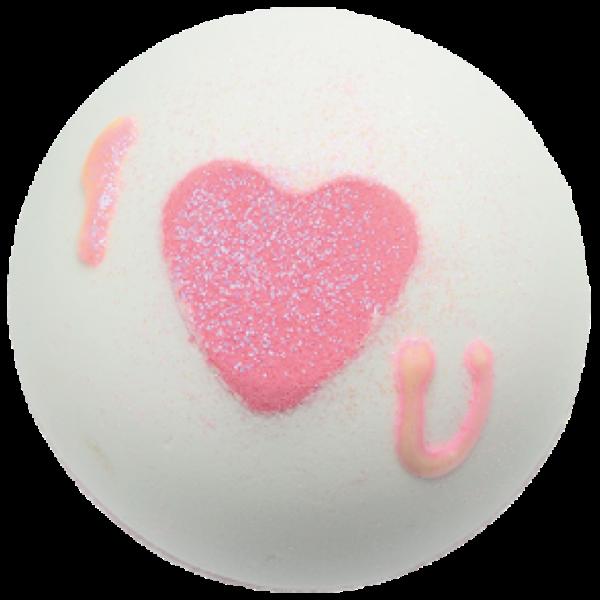 Badekugel Heart That Glitters