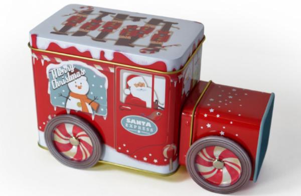 Weihnachtslieferwagen