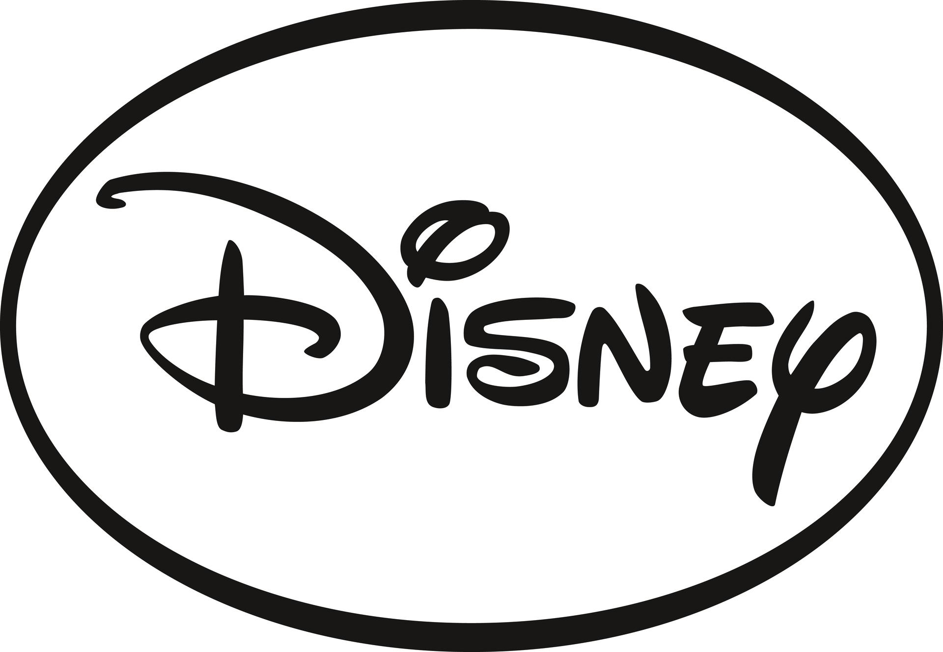 Disney Logo schw w