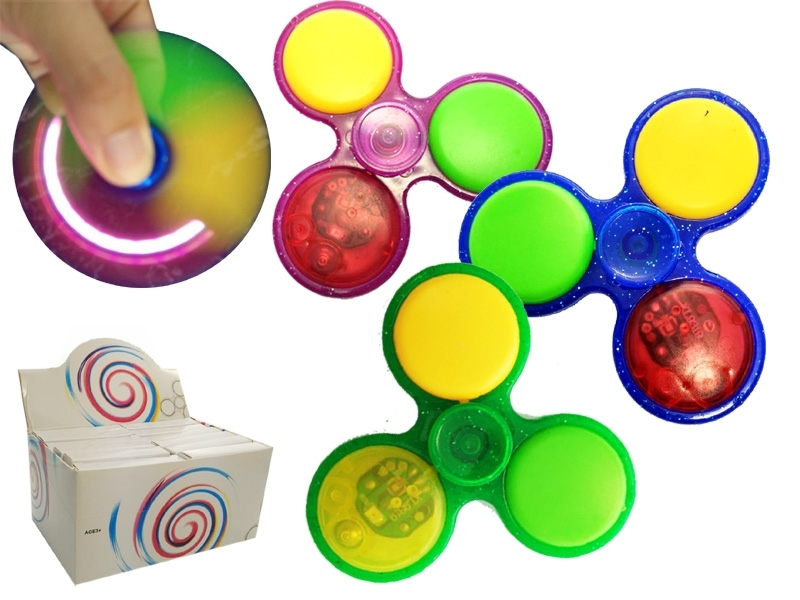 Finger Spinner LED